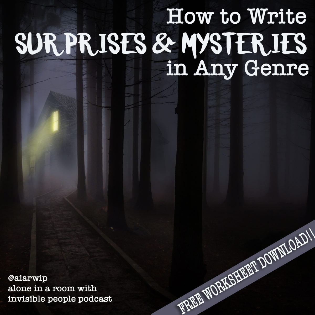 Episode 33:How to Write Surprises and Mysteries in Any Genre