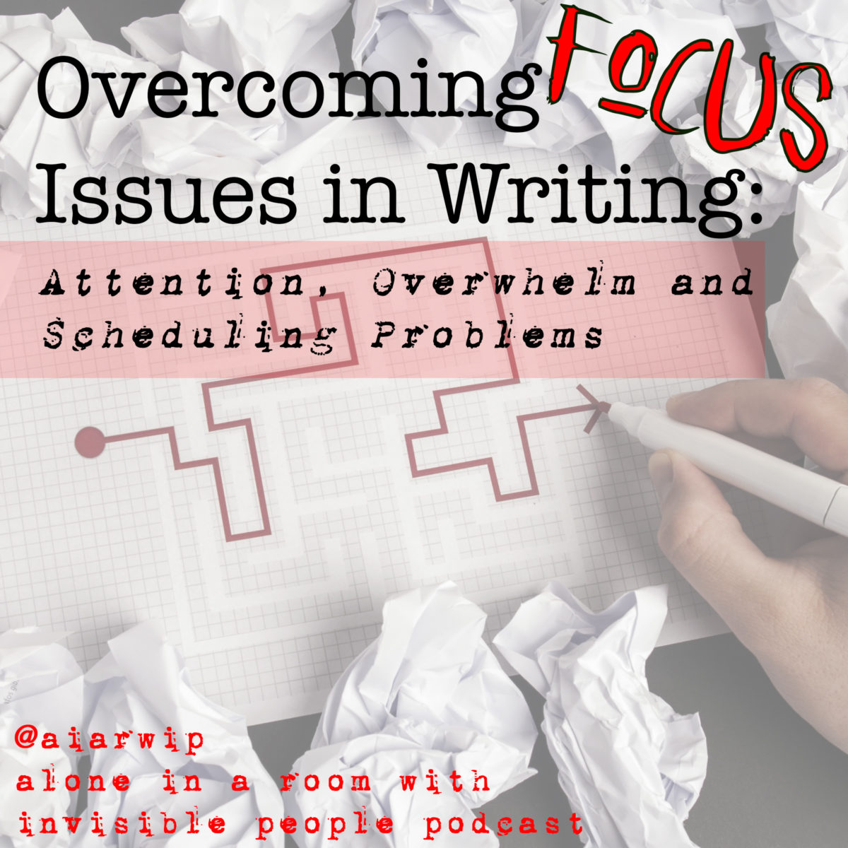 Episode 81:  Overcoming Focus Issues in Writing: Attention, Overwhelm and Scheduling Problems