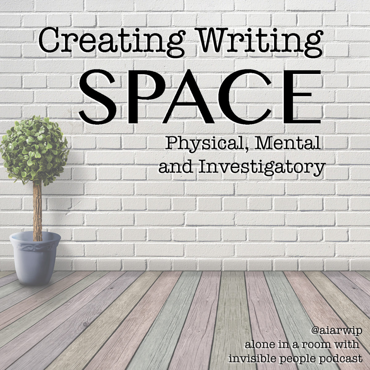 Episode 105: Creating Your Personal Writing Space: Physical, Mental and Investigatory