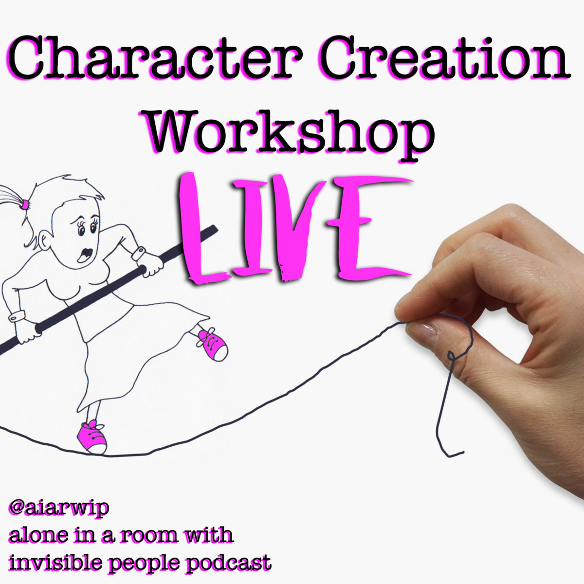 Character Creation Workshop – Live and on the Fly